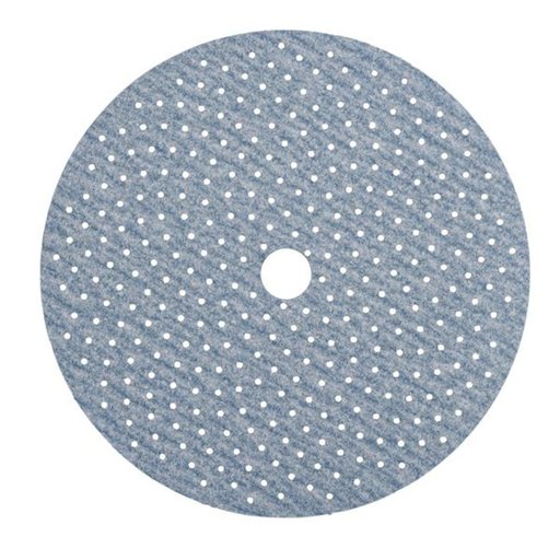 "View a Larger Image of ProSand MULTI-AIR 5"" Multi-Hole Pattern Hook & Sand Disc, 120 grit, 50 pack"