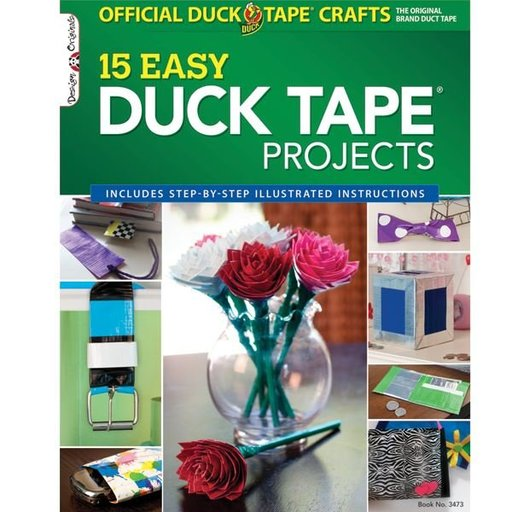 View a Larger Image of Official Duck Tape (R) Craft Book