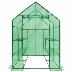 Deluxe WALK-IN - 2 Tier, 8 Shelf Portable Greenhouse