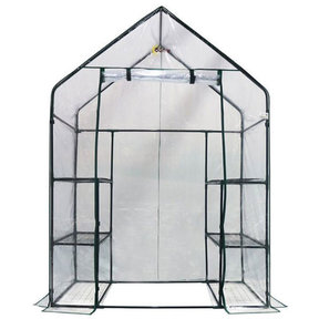 Deluxe WALK-IN - 3 Tier, 6 Shelf Portable Greenhouse