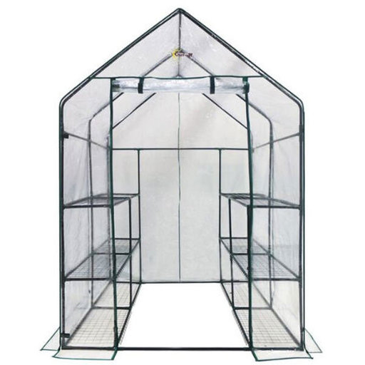 View a Larger Image of Deluxe WALK-IN - 6 Tier, 12 Shelf Portable Greenhouse
