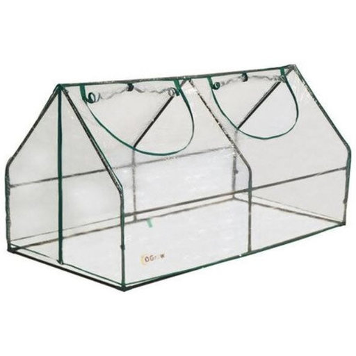 View a Larger Image of Ultra Deluxe Compact Outdoor Seed Starter Greenhouse Cloche