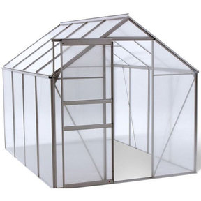 WALK-IN - 6' X 8' Greenhouse with Heavy Duty Aluminum Frame