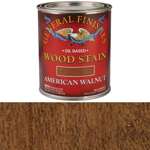 View a Larger Image of Oil Based Stain, American Walnut, Quart