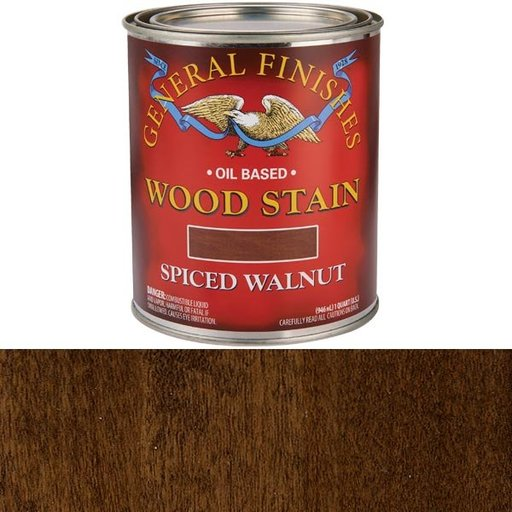 View a Larger Image of Oil Based Stain, Spiced Walnut, Quart