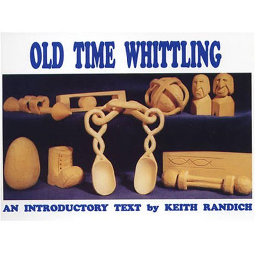 View a Larger Image of Old Time Whittling Book