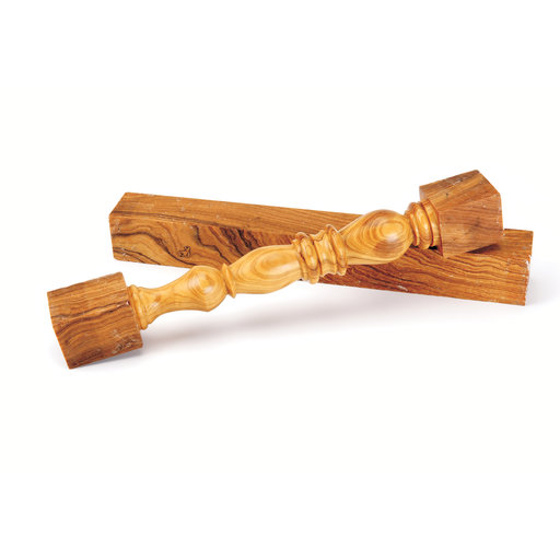 """View a Larger Image of Olivewood Roman 2"""" x 4"""" x 4"""""""
