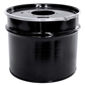 Metal 17-Gallon Collection Drum