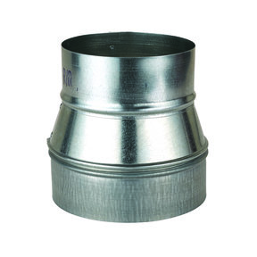 """Metal 6"""" to 5"""" Reducer Dust Collection Fitting"""