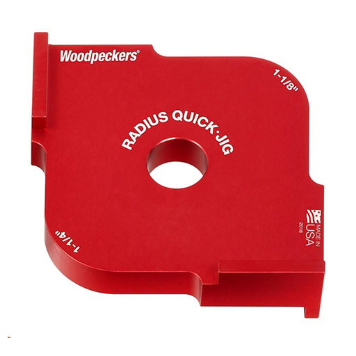 "View a Larger Image of OneTIME Tool 1-1/8"" and 1-1/4"" Radius Quick Jig"