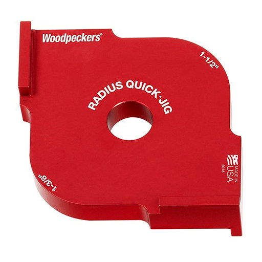 """View a Larger Image of OneTIME Tool 1-3/8"""" and 1-1/2"""" Radius Quick Jig"""