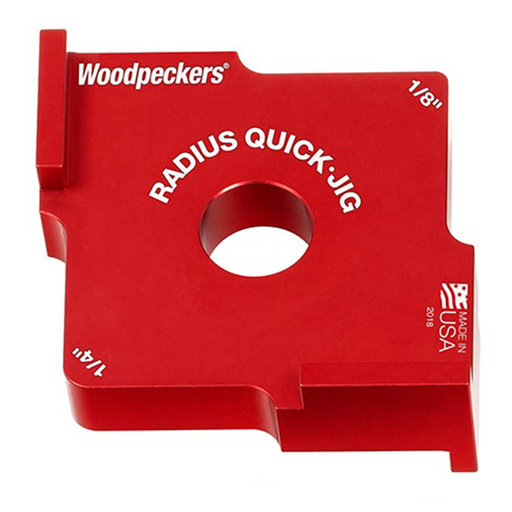 "View a Larger Image of OneTIME Tool 1/8"" and 1/4"" Radius Quick Jig"