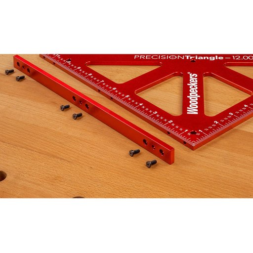 "View a Larger Image of OneTime Tool 12"" Precision Triangle with Case"
