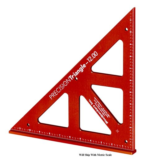"View a Larger Image of OneTime Tool 12"" Precision Triangle"