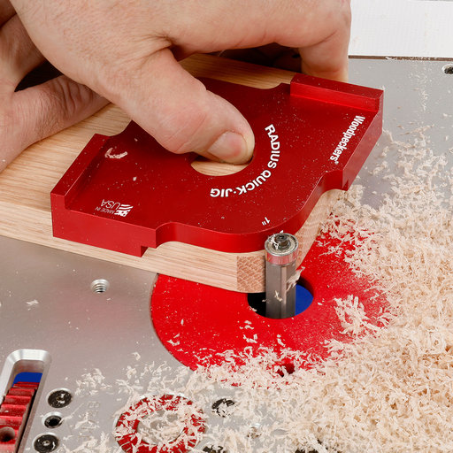 "View a Larger Image of OneTIME Tool 3/8"" and 1/2"" Radius Quick Jig"