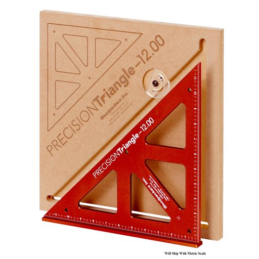View a Larger Image of OneTime Tool 300mm Precision Triangle with Case