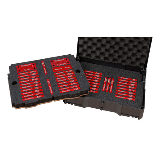 View a Larger Image of OneTIME Tool 42-Piece Jumbo Deluxe Setup Blocks Set Systainer Case