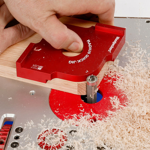 """View a Larger Image of OneTIME Tool 7/8"""" and 1"""" Radius Quick Jig"""