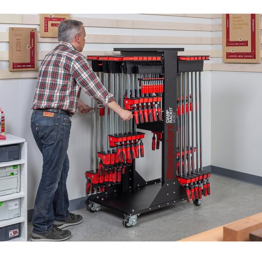 View a Larger Image of OneTime Tool Clamp Rack-It Mobile 24""