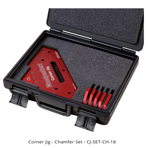 View a Larger Image of OneTIME Tool Corner Jig Chamfer Set With Case