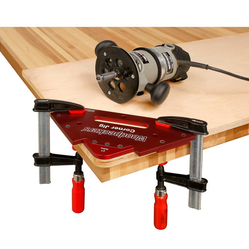 View a Larger Image of OneTIME Tool Corner Jig Radius Set With Case