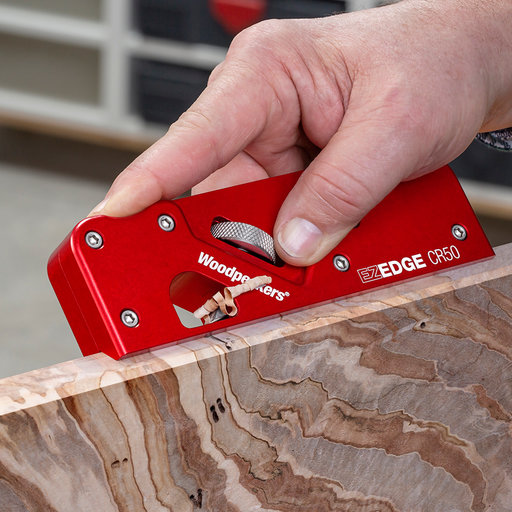 View a Larger Image of OneTime Tool EZ-Edge Corner Plane with 45 Degree Chamfer  Blade