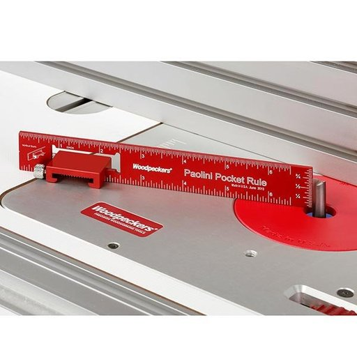 "View a Larger Image of OneTIME Tool Paolini Pocket Rule Aluminum 8""/200mm"