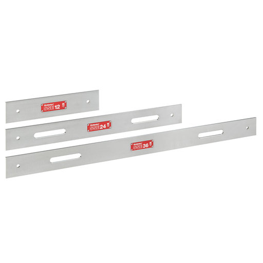 View a Larger Image of OneTIME Tool SSE Steel Straight Edge Set 12-inch, 24-inch, 36-inch