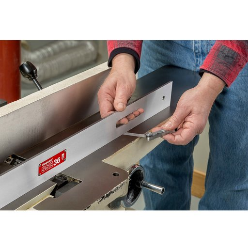 """View a Larger Image of OneTime Tool Steel Straight Edge, 1 Bevel-12"""""""