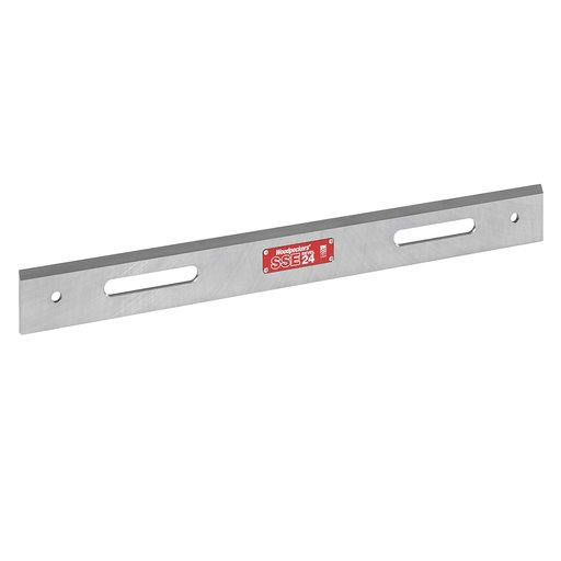 View a Larger Image of OneTime Tool Steel Straight Edge, 1 Bevel-24""