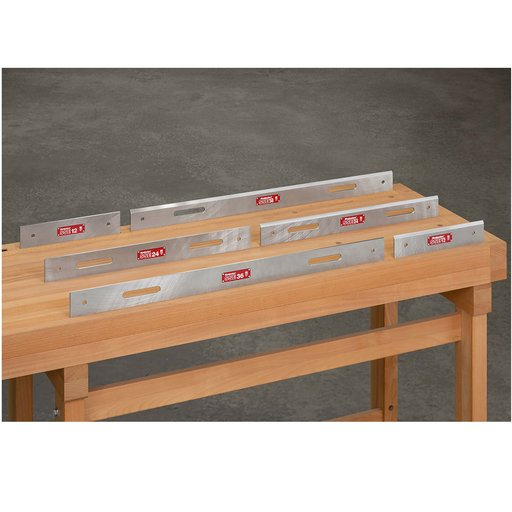 View a Larger Image of OneTime Tool Steel Straight Edge-24""