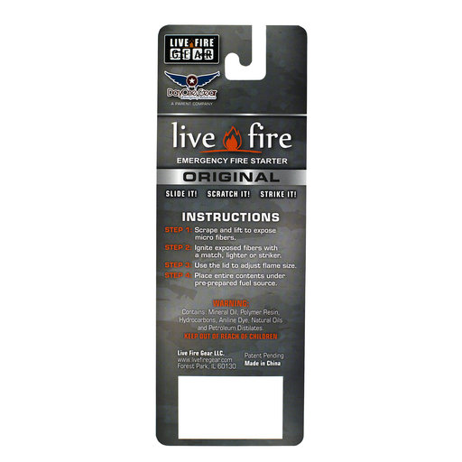 View a Larger Image of  Original Emergency Fire Starter