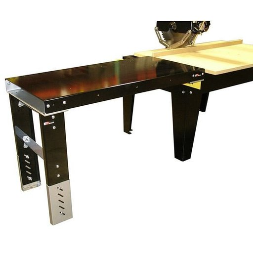 """View a Larger Image of 4'x24"""" Formed Steel Extension Table"""