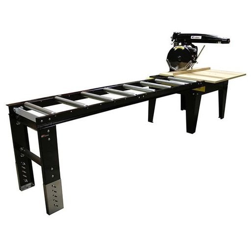 View a Larger Image of 8' Extension Table with 8 Rollers