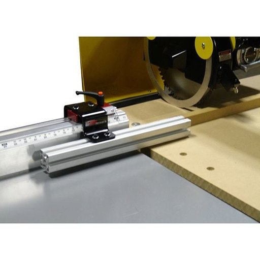 View a Larger Image of Fixed Foot Manual Measuring System, 24' Left Side Mounting