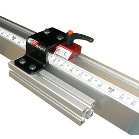 Fixed Foot Manual Measuring System, 4' Left Side Mounting