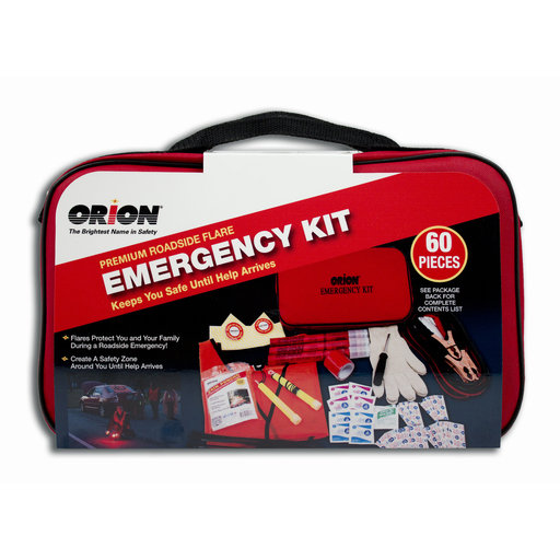 View a Larger Image of 60Pc Premium Flare Emergency Kit