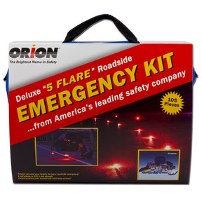 "Deluxe ""5"" Flare Roadside Kit"