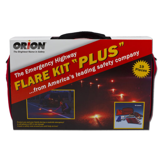 View a Larger Image of Flare Kit Plus Emergency Kit