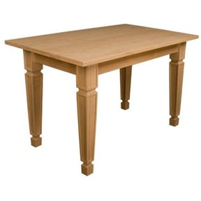 Knotty Pine Small Mission Dining Table Kit, Model 50001P