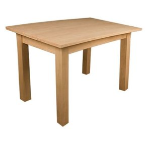 Red Oak Small Shaker Dining Table Kit, Model 50012O