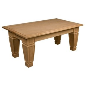 Soft Maple Mission Coffee Table Kit, Model 50019M