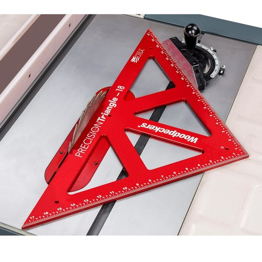 View a Larger Image of OneTime Tool 300mm and 450mm PRECISION TRIANGLE - WITH CASE