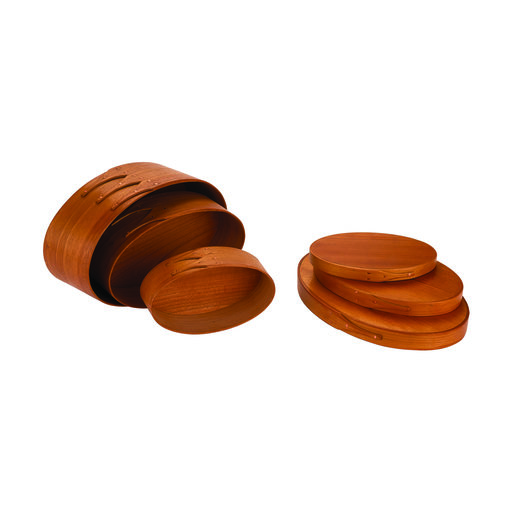 View a Larger Image of Oval Shaker 3 Piece Box Kit