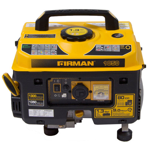 View a Larger Image of P01001 Gas Powered 1050/1350 Watt Portable Generator