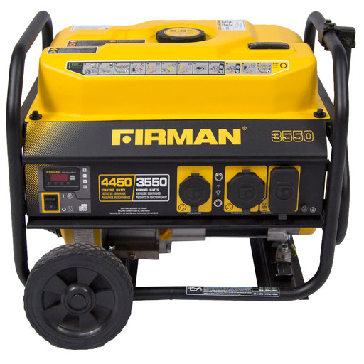 View a Larger Image of P03501 Gas Powered 3650 / 4450 Watt Portable Generator