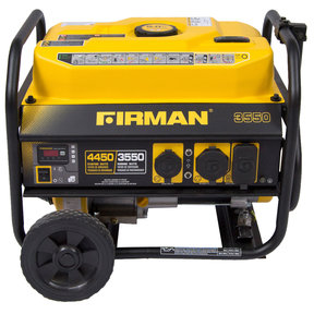 P03501 Gas Powered 3650 / 4450 Watt Portable Generator