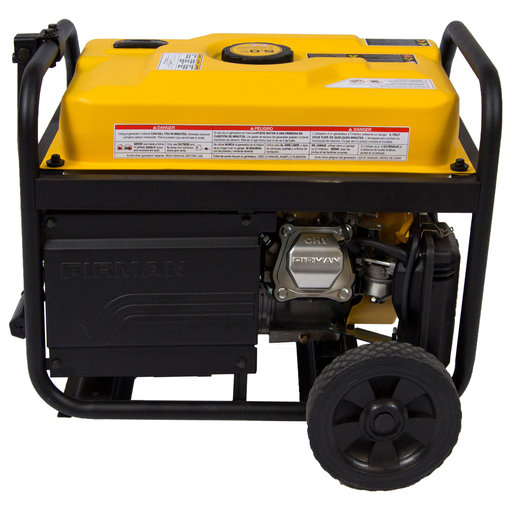 View a Larger Image of P03602 Gas Powered 3650/4550 Watt Portable Generator with Wheel Kit
