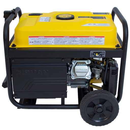 View a Larger Image of P03608 Gas Powered 3650/4550 Watt Portable Remote Start Generator with Wheel Kit CARB Compliant