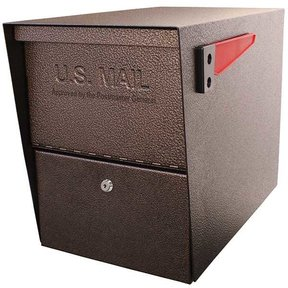 Package Master Locking Security Mailbox, Bronze Copper